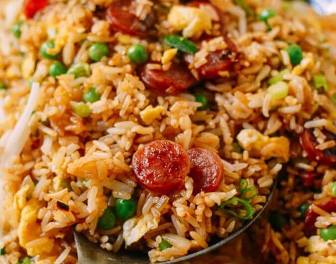 Chinese Sausage Fried Rice