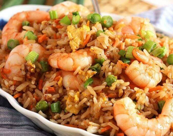 Easy Shrimp Rice