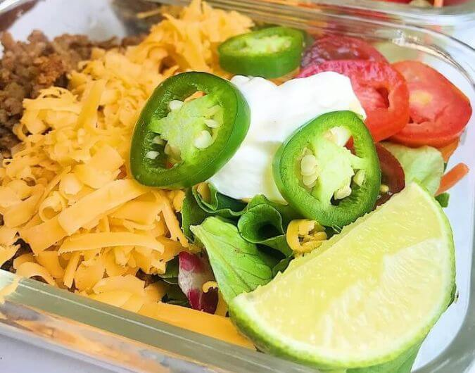 Keto Taco Salad Bowl