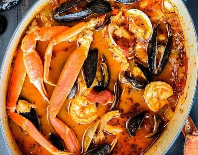 Classic Cioppino San Francisco Style Seafood Stew Healthycaresite
