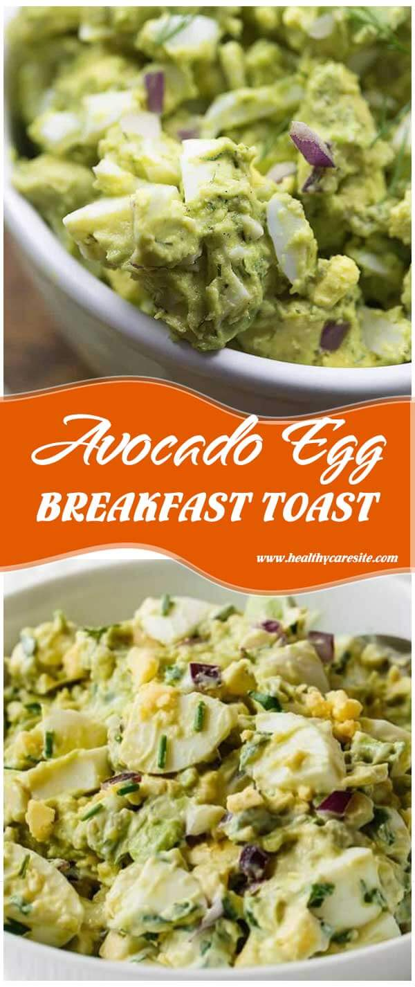 Avocado Egg Breakfast Toast