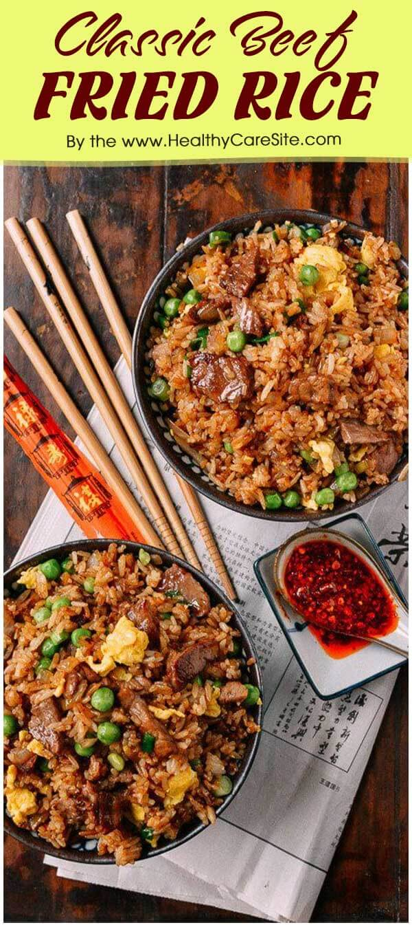 Classic Beef Fried Rice