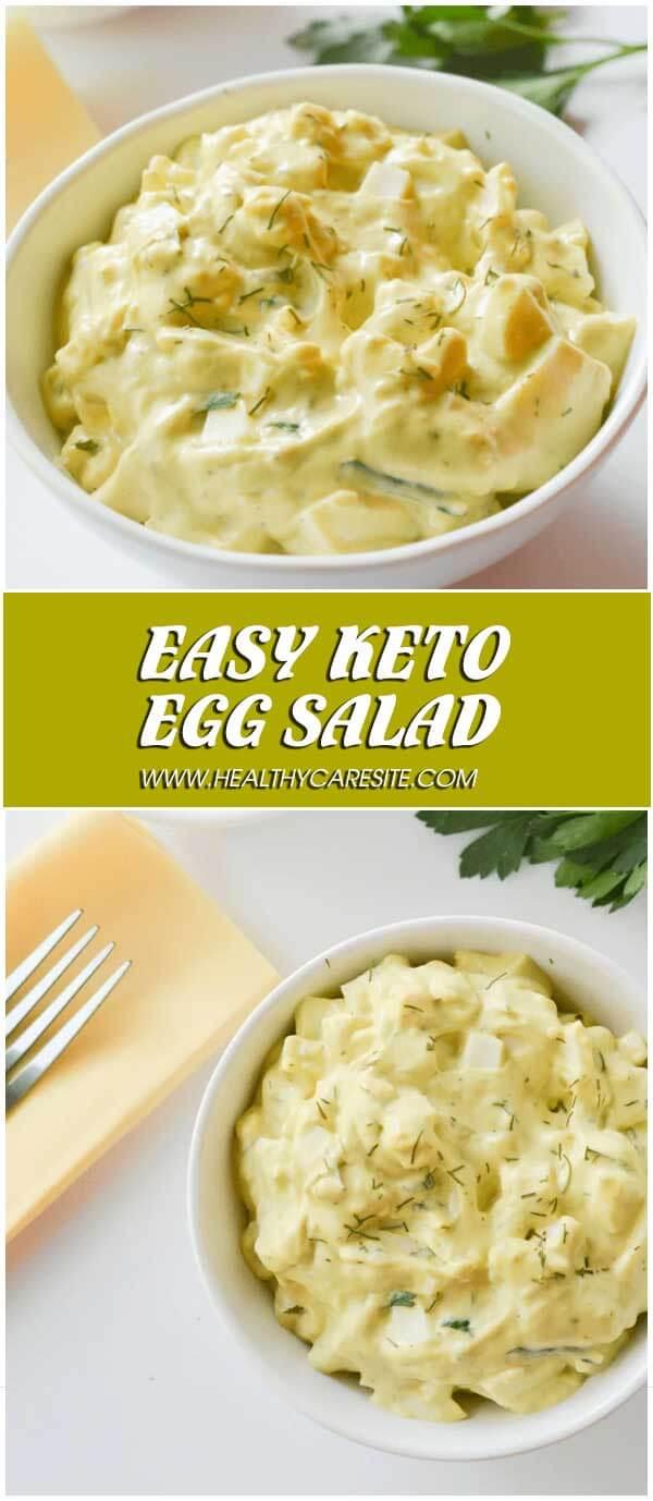 Easy Keto Egg Salad