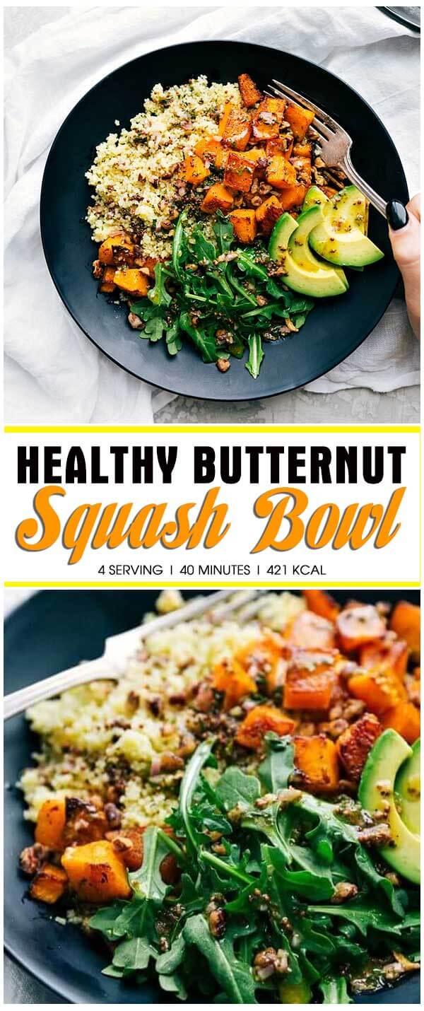 Healthy Butternut Squash Bowl