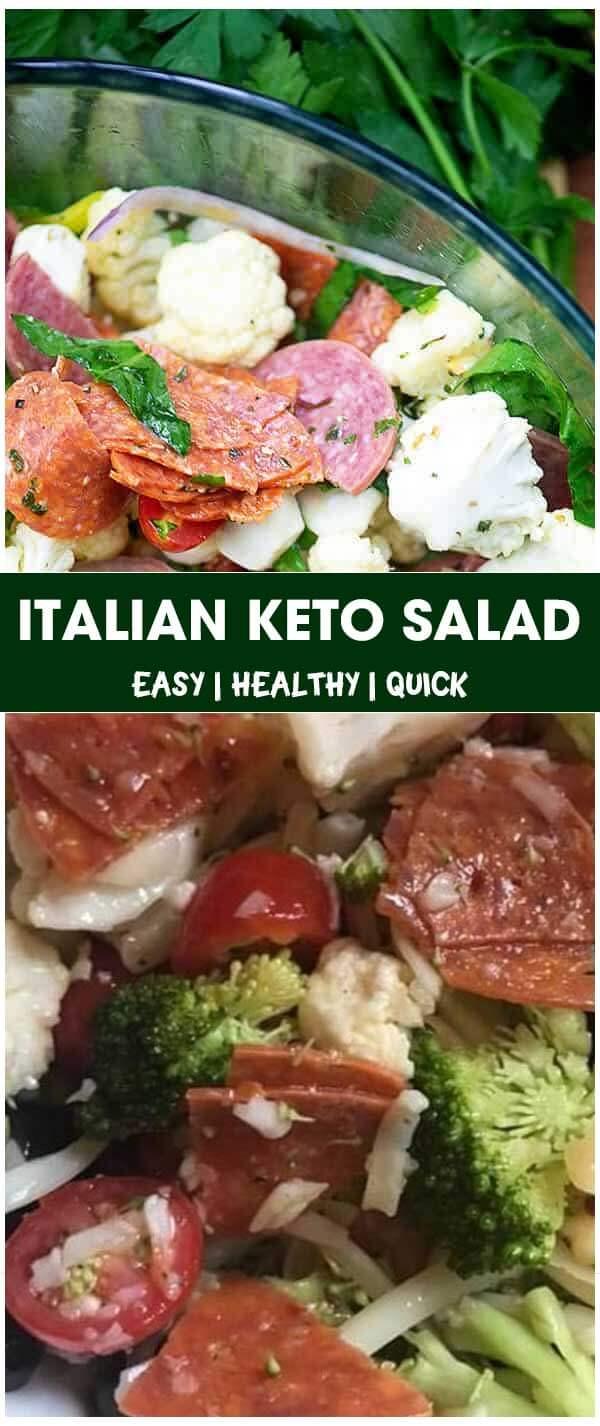 Italian Keto Salad