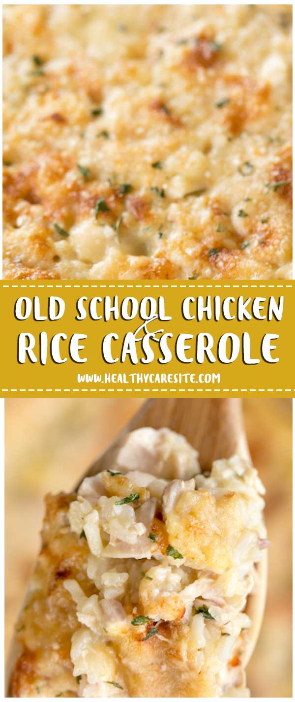 Old School Chicken and Rice Casserole