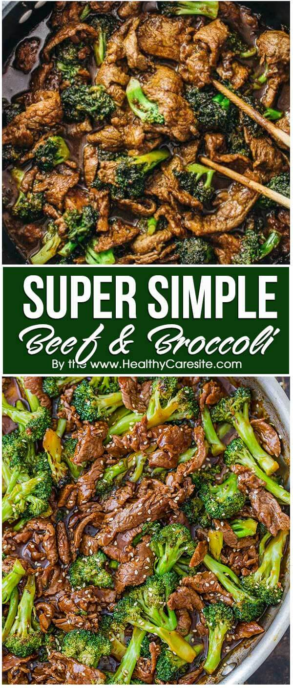 Super Simple Beef and Broccoli