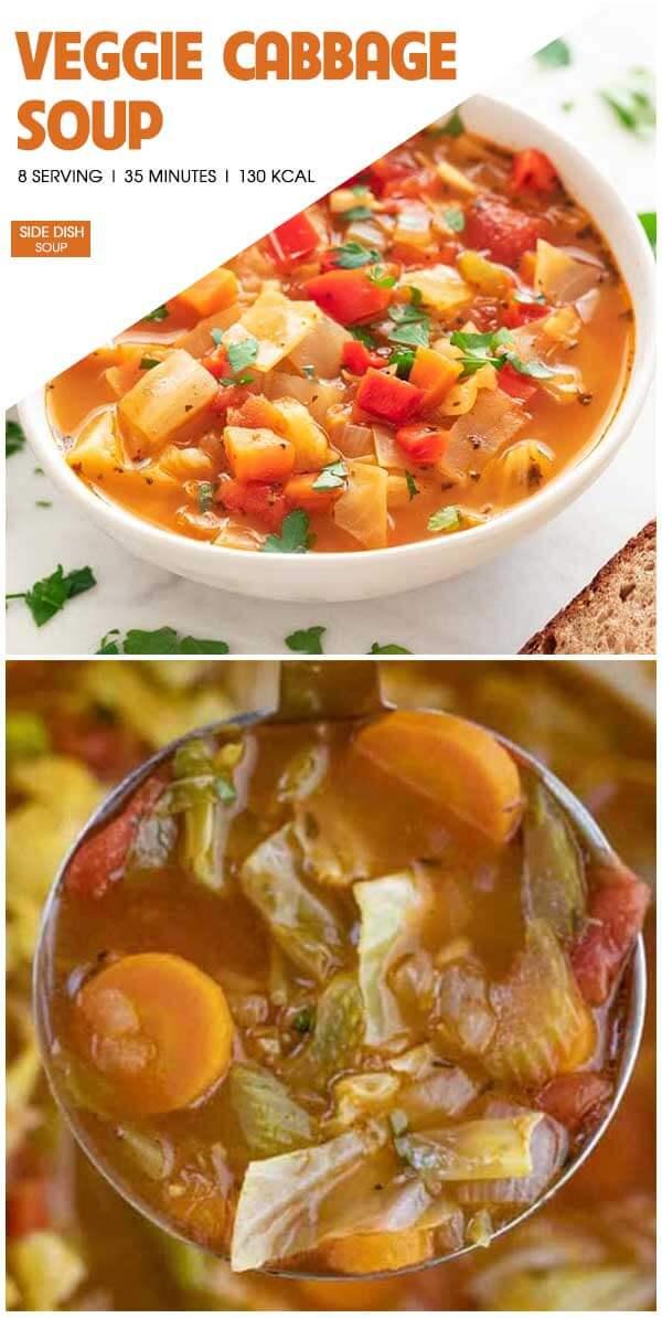 Veggie Cabbage Soup