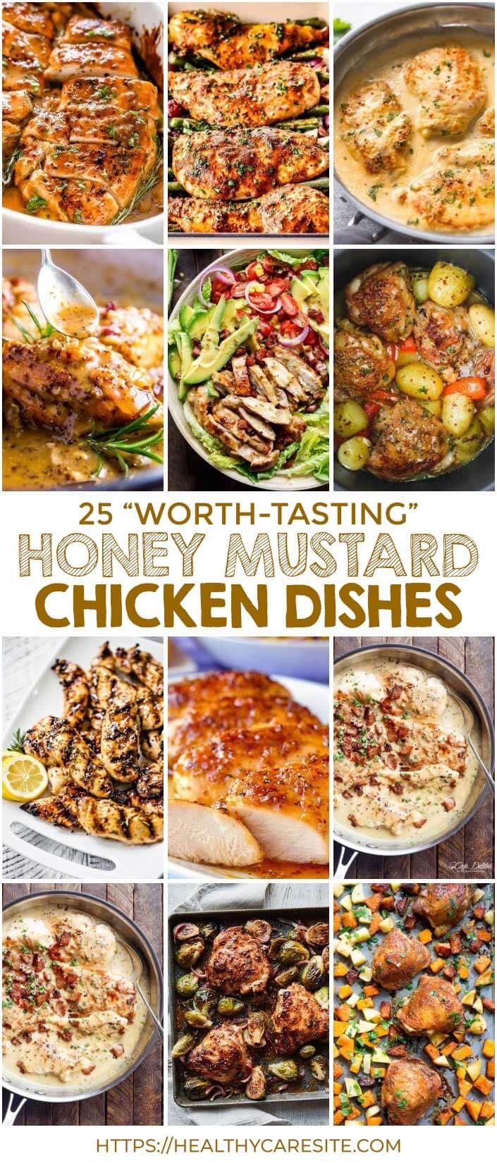 "25 ""Worth-Tasting"" Honey Mustard Chicken Dishes"