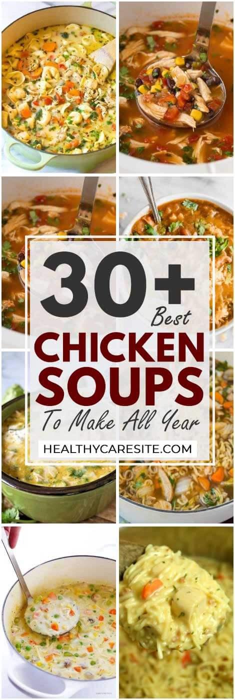 30 Best Chicken Soups To Make All Year