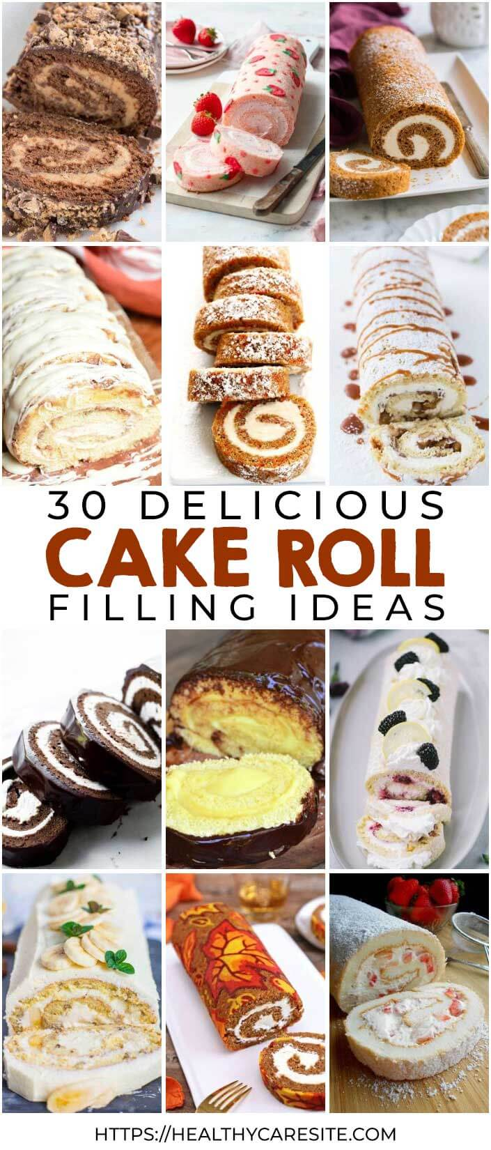 "30 ""Melt-In Mouth"" Cake Rolls"