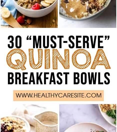 "30 ""Must-Serve"" Quinoa Breakfast Bowls"