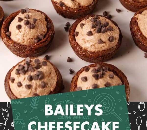 Baileys Cheesecake Cups