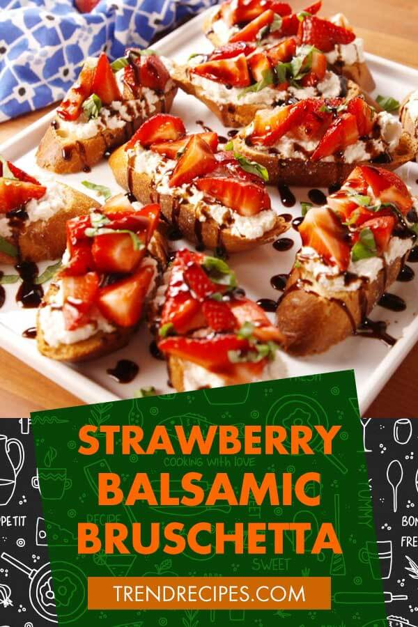 Strawberry-Balsamic-Bruschetta