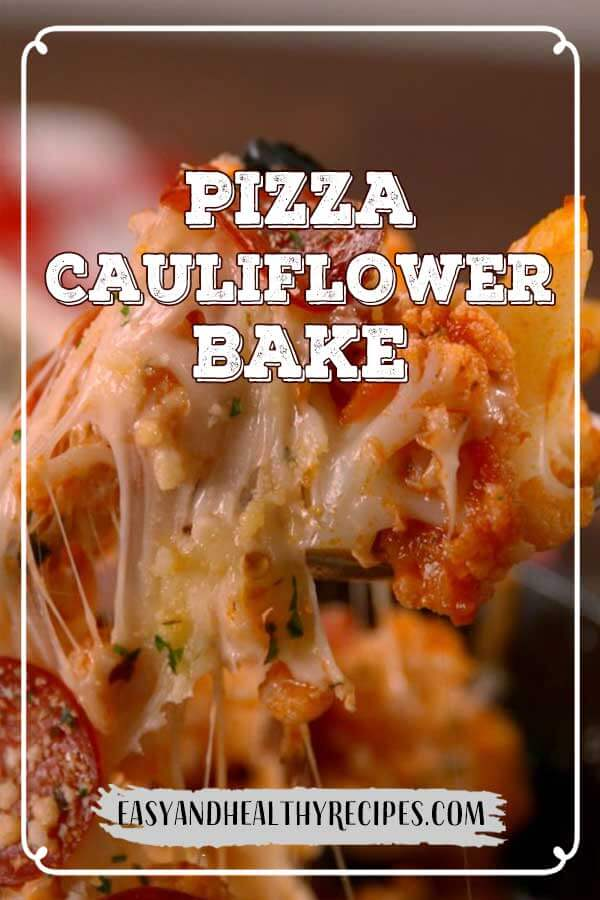 Pizza-Cauliflower-Bake