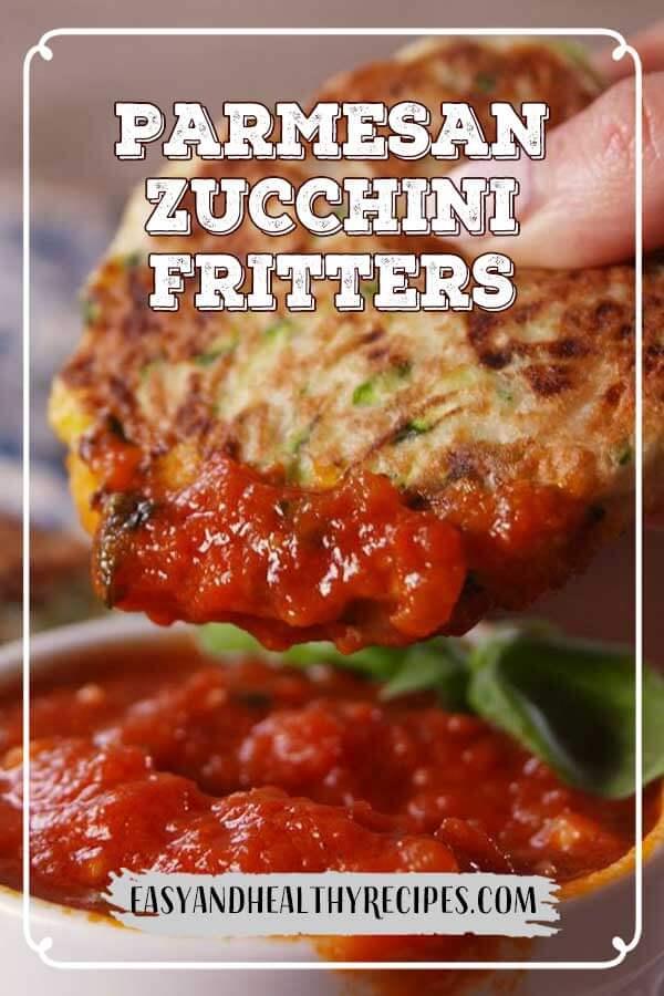 Parmesan-Zucchini-Fritters