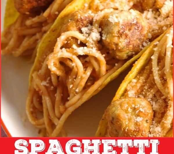 Spaghetti & Meatball Tacos