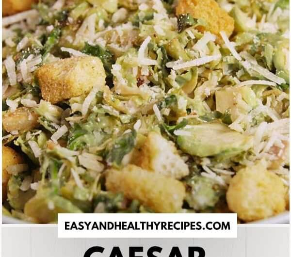 Caesar Brussels Sprouts