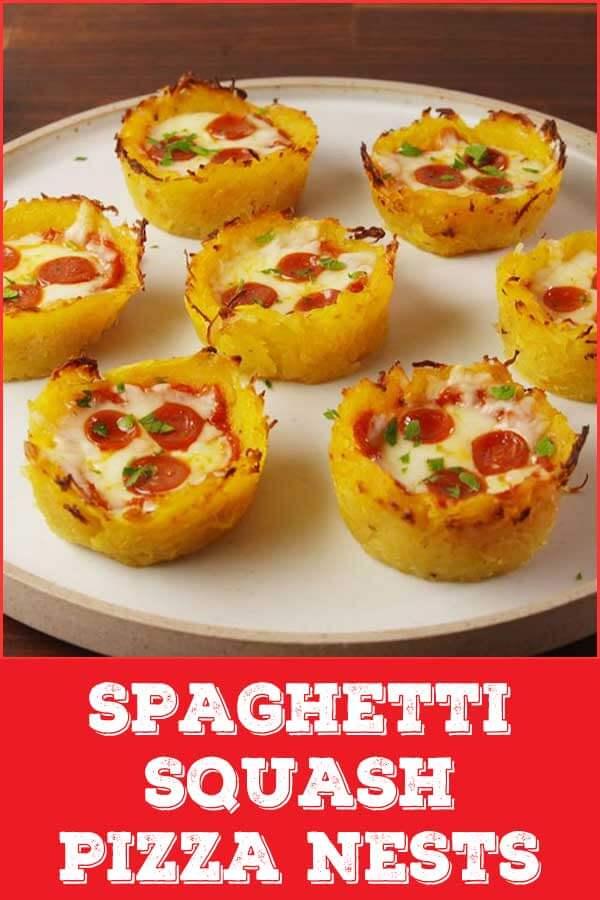Spaghetti-Squash-Pizza-Nests