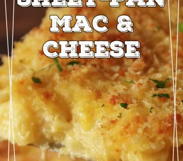 Sheet-Pan Mac & Cheese