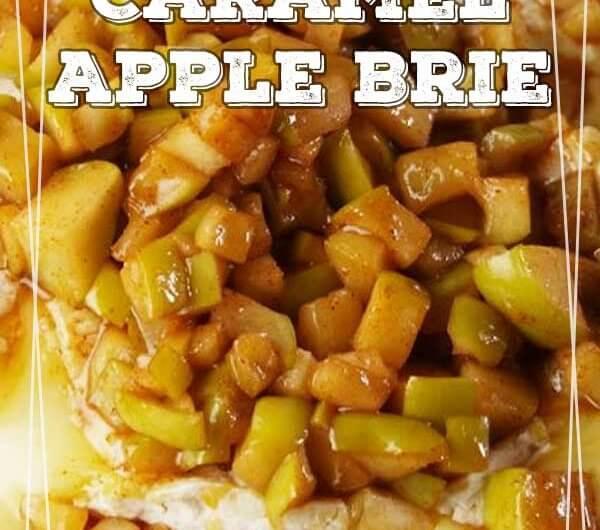 Caramel Apple Brie