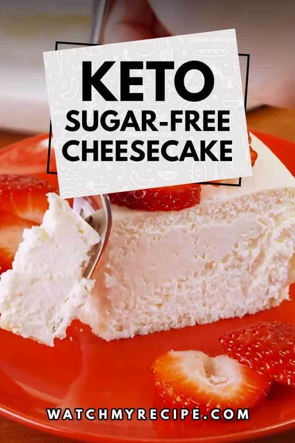 Keto-Sugar-Free-Cheesecake